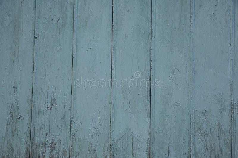 Текстура голубой стелюги стены амбара деревянной широкая Предпосылка старых деревянных предкрылков деревенская затрапезная стоковые фотографии rf