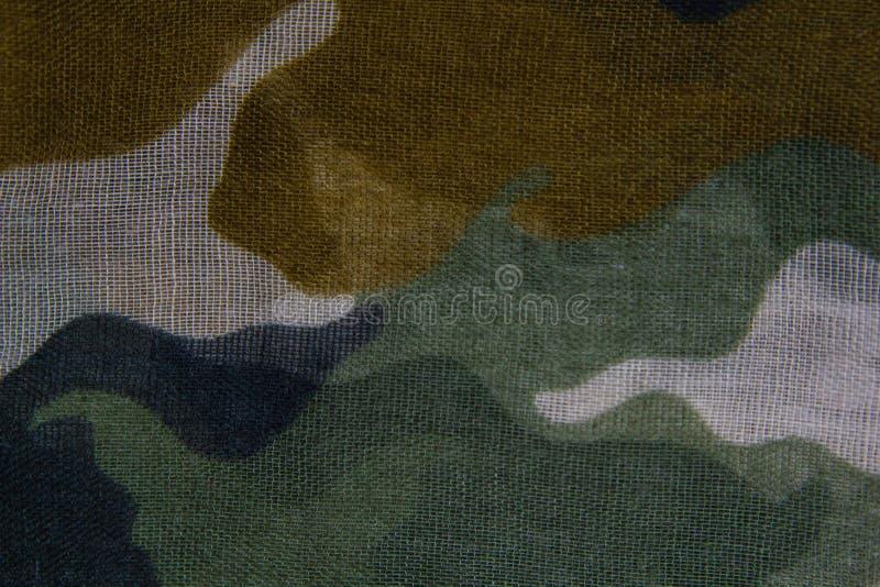 Текстура ткани картины камуфлирования стоковое изображение