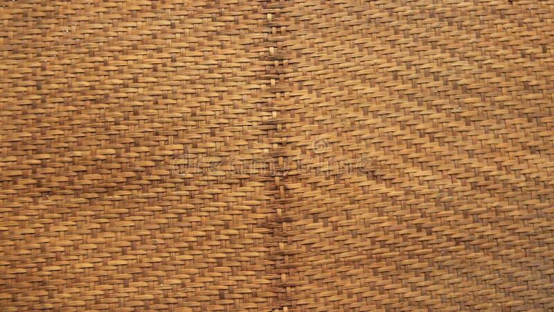 Текстурирует бамбуковый Wickerwork стоковые фото