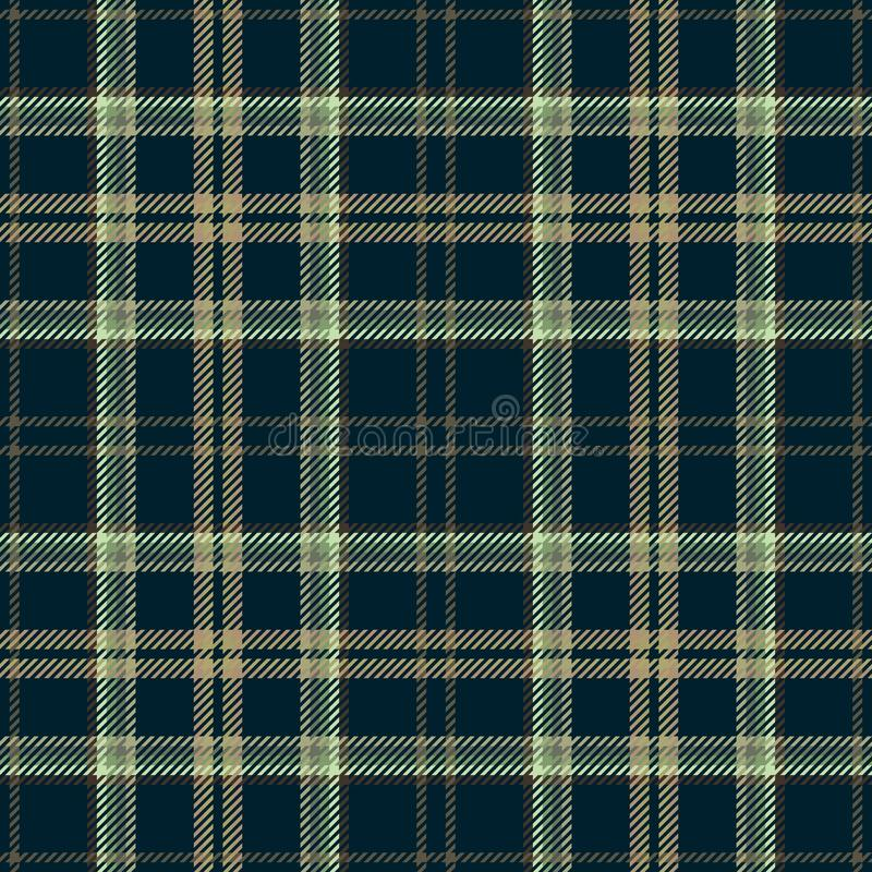 Ткань тартана шотландки ткани шотландская традиционно иллюстрация вектора