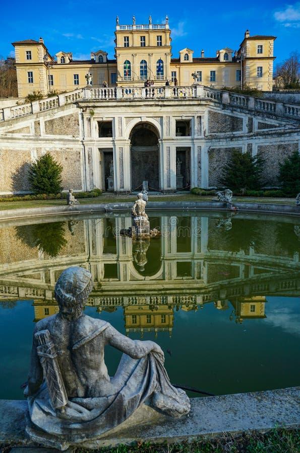 Турин, величественное della Реджайна виллы стоковое изображение rf