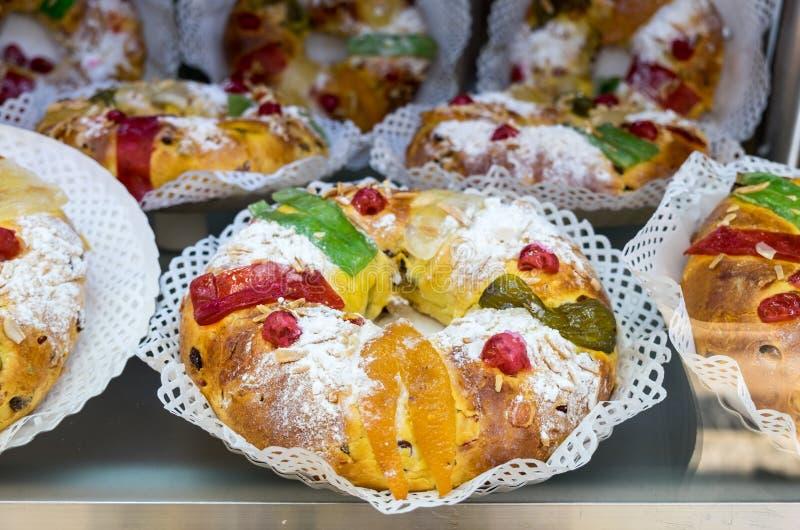 Традиционные португальские сладкие продукты пекарни Португалия стоковое фото