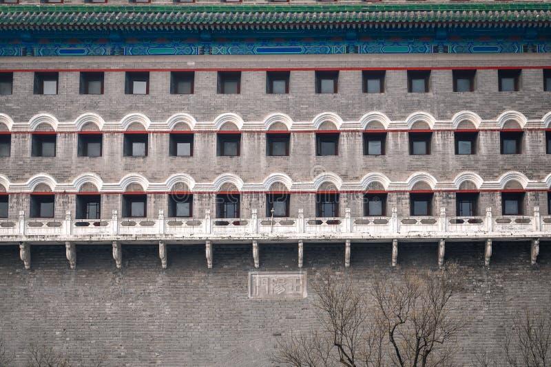 традиционное зодчества китайское Башня Archery Пекин стоковые фотографии rf