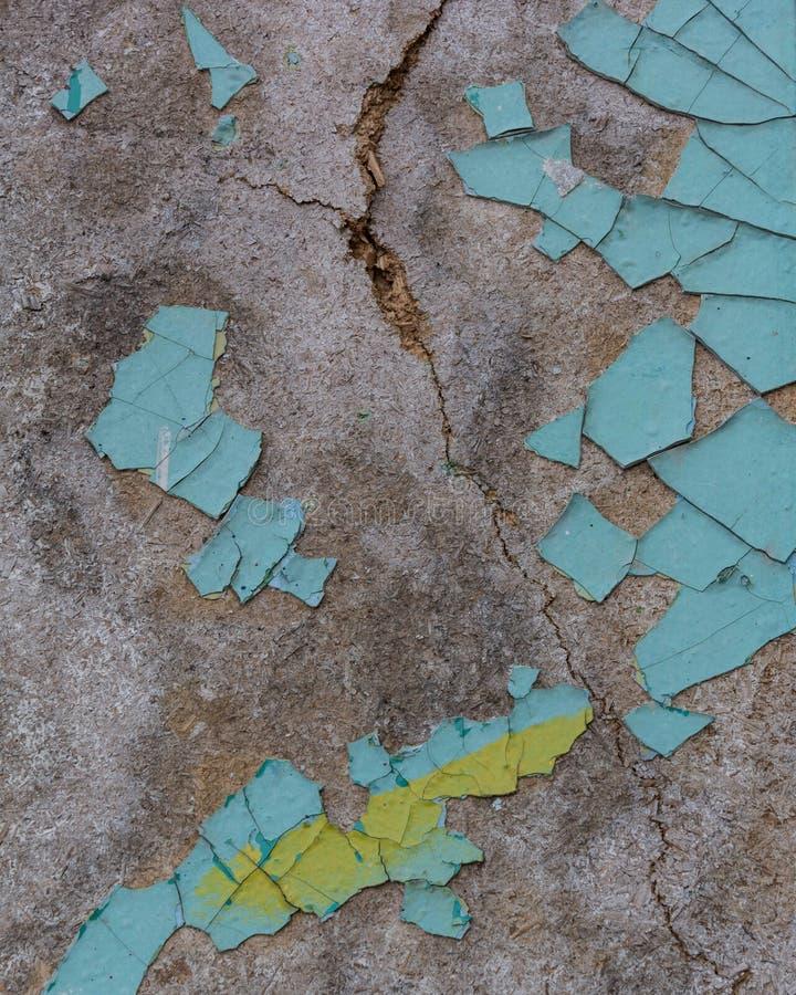 Треснутая синь текстуры стоковая фотография rf