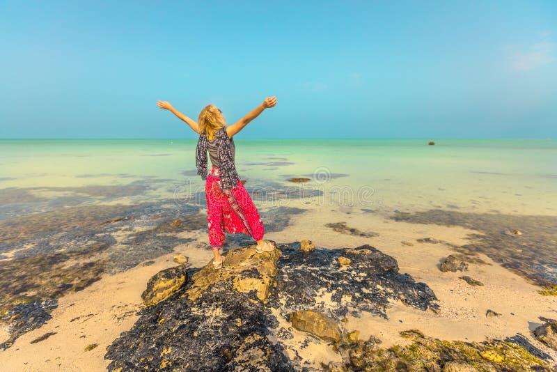 Тропическое море в Персидском заливе стоковые фотографии rf