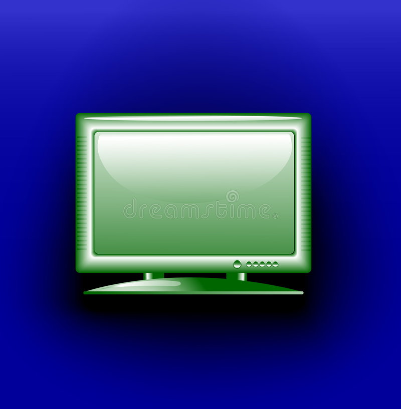 Ñ'he TV stock illustration