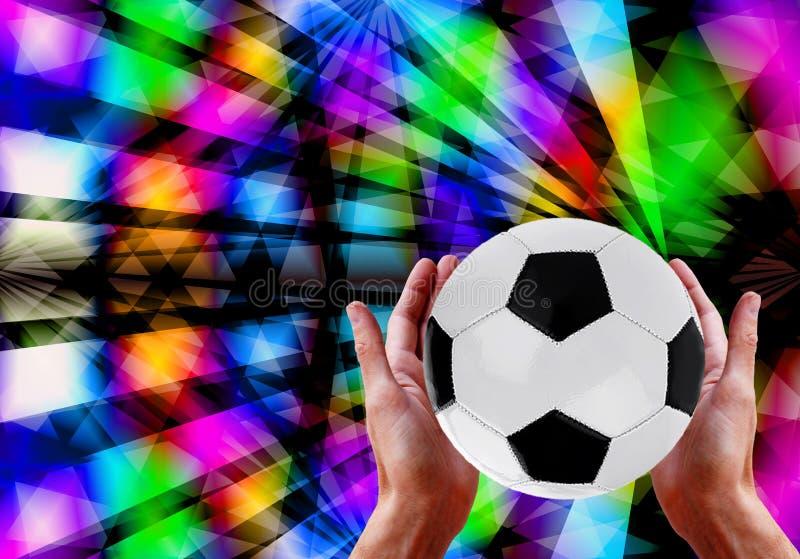 Торжество футбола Катар 2022 стоковое фото