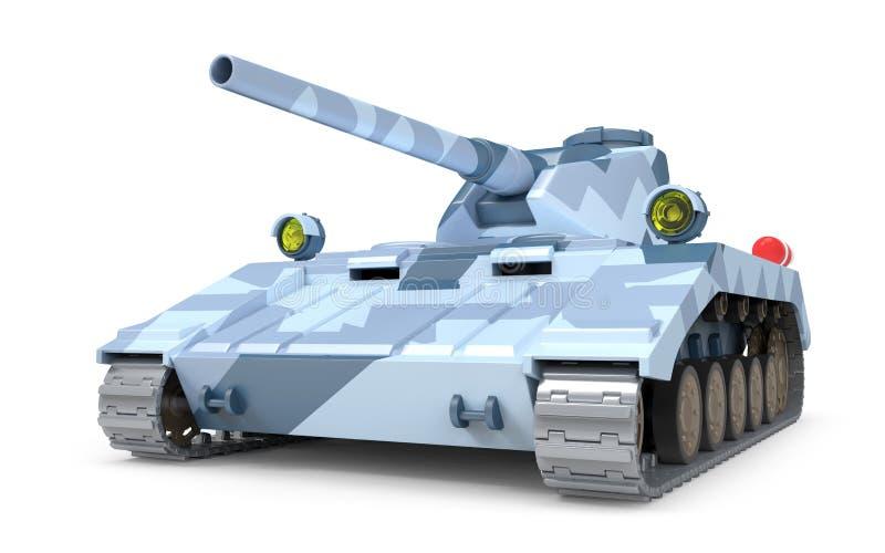 Фантастическое танка тяжелое иллюстрация вектора