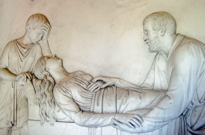 Фриз мавзолея Kilmorey, St Margarets стоковые изображения rf