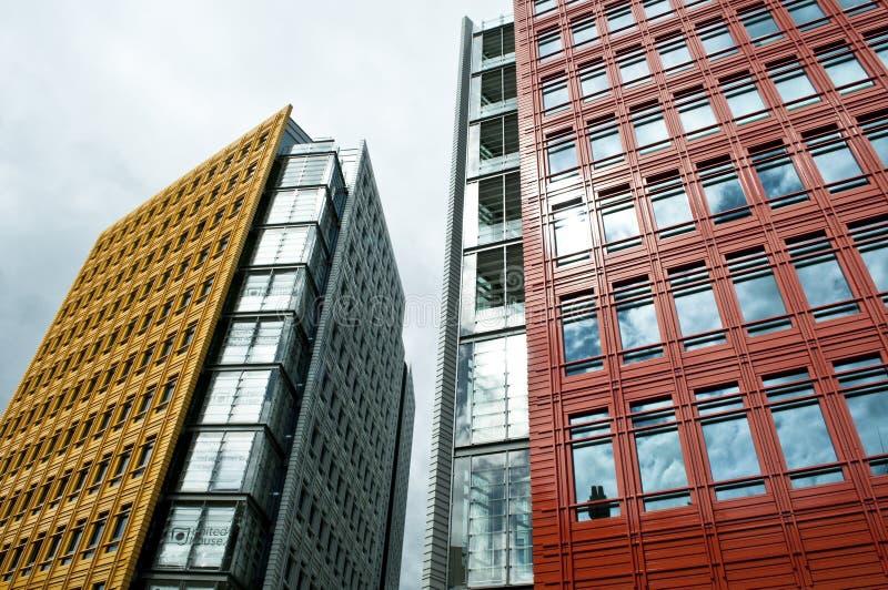 Центральное St Giles, Лондон, Великобритания стоковые фотографии rf