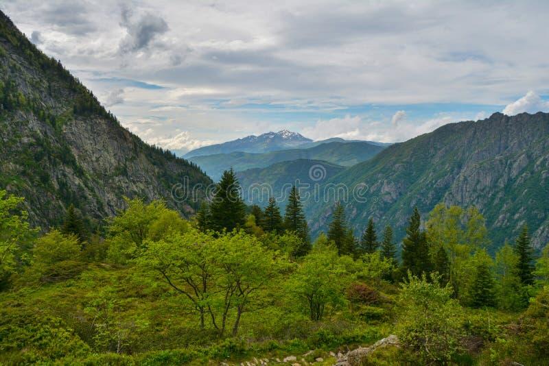 Цепь горы стоковое фото rf