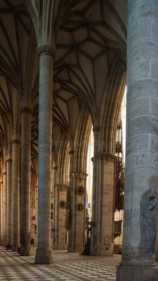 Церковь внутренней монастырской церкви ulm известная немецкая стоковые изображения