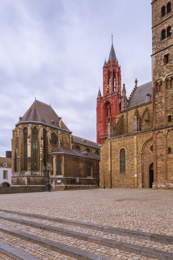 Церков Святого Servatius и St. John стоковые фотографии rf
