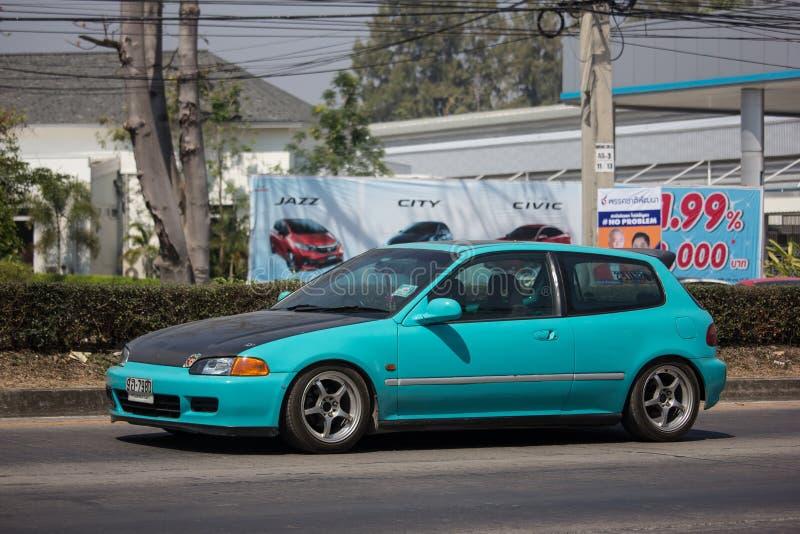 Частный старый автомобиль Honda Civic стоковое фото