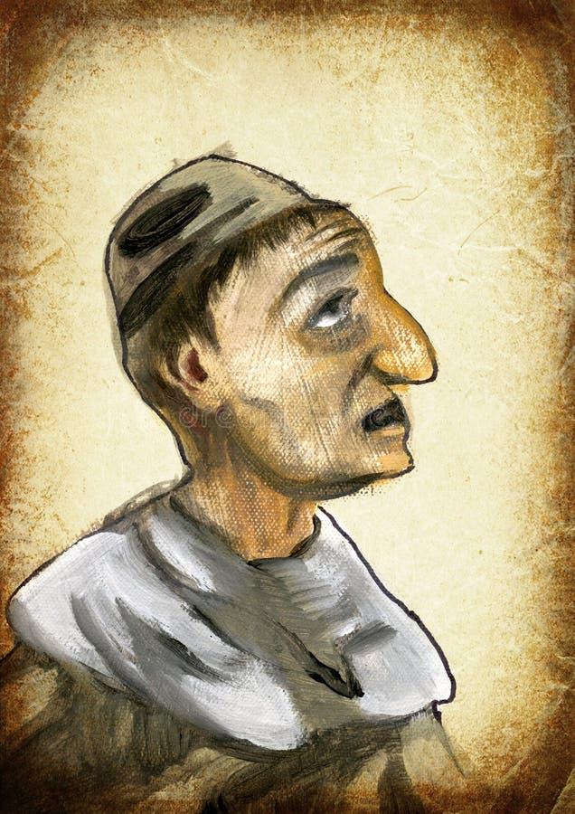 человек Картина руки Винтажный обрабатывать стоковые фотографии rf