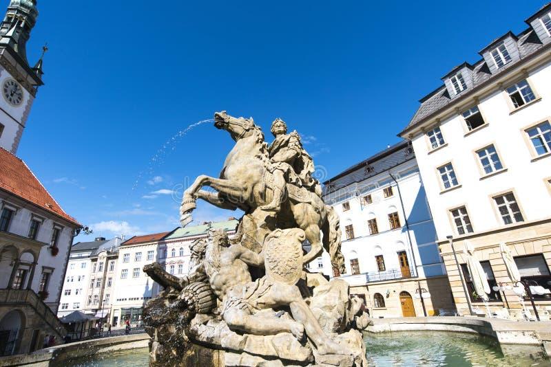 Чехия сентябрь 2018 E взгляд городка республики cesky чехословакского krumlov средневековый старый стоковые фотографии rf