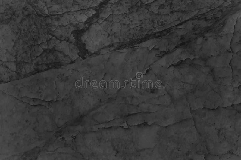 Черная или серая мраморная каменная предпосылка Темный серый мрамор, фон текстуры кварца Картина стены и мрамора панели естествен стоковые изображения