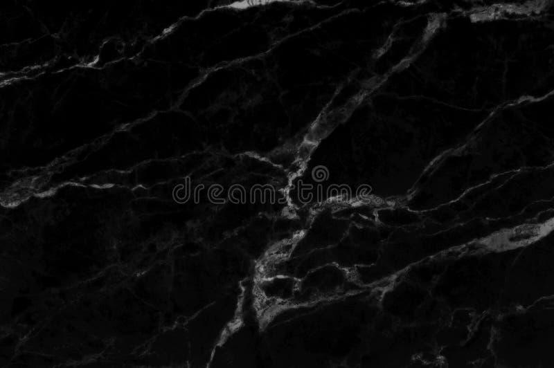 Черная серая мраморная предпосылка текстуры с высоким разрешением, взглядом сверху естественного камня плиток в роскошной и безшо бесплатная иллюстрация