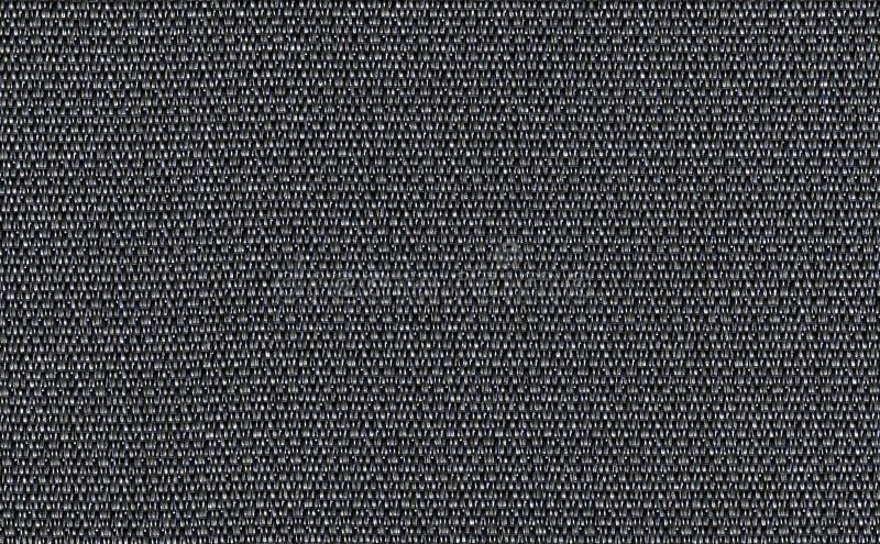 Чернота крупного плана, темный серый фон текстуры образца ткани цвета Темная серая линия прокладки дизайн ткани картины, драпиров стоковая фотография