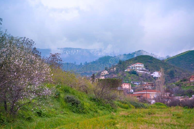 Чудесные ландшафты Кипра стоковое изображение rf