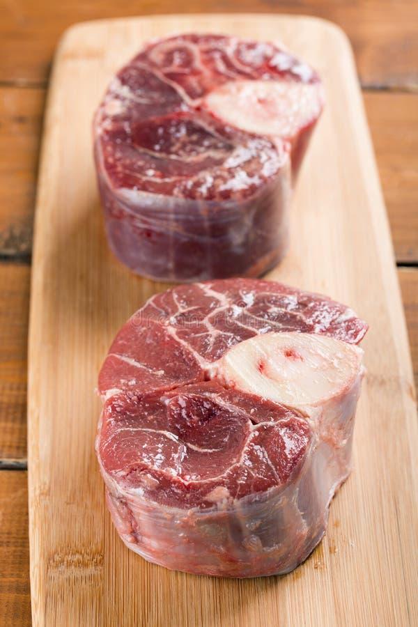Хвостовики Ossobuco говядины стоковое фото rf