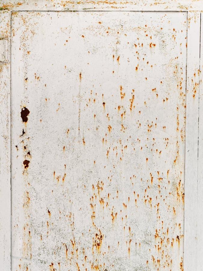 Ржавая текстура grunge Покрашенная стена металла стоковое фото