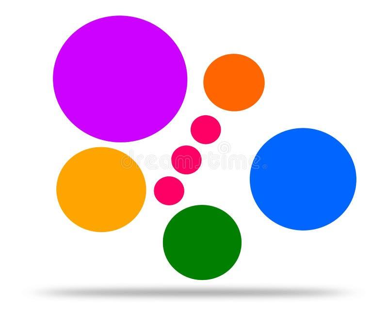 Рисуя бабочка логотипа в полете иллюстрация вектора