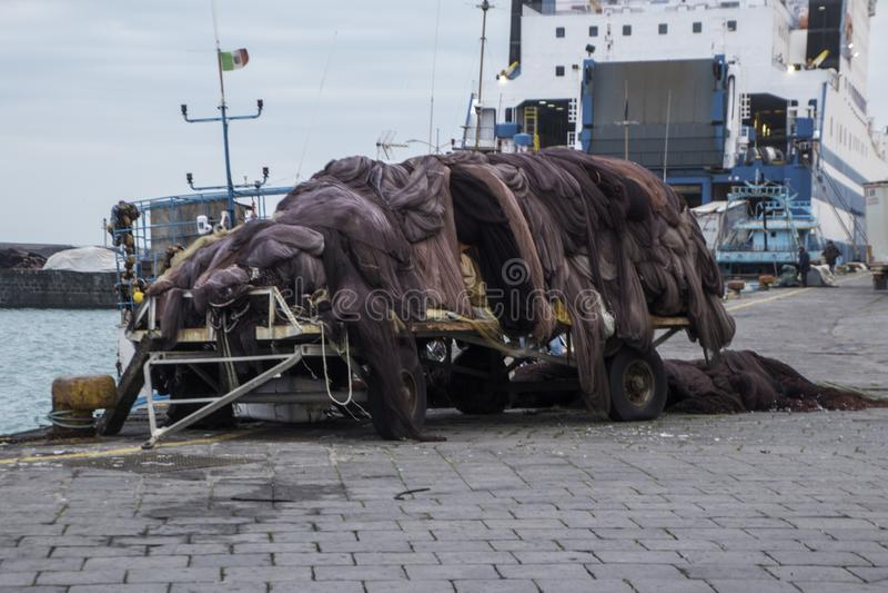 Рыболовные сети стоковые фото