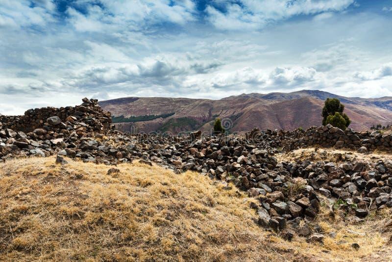 Ñ  turkotliwa ściana Incas zdjęcie royalty free