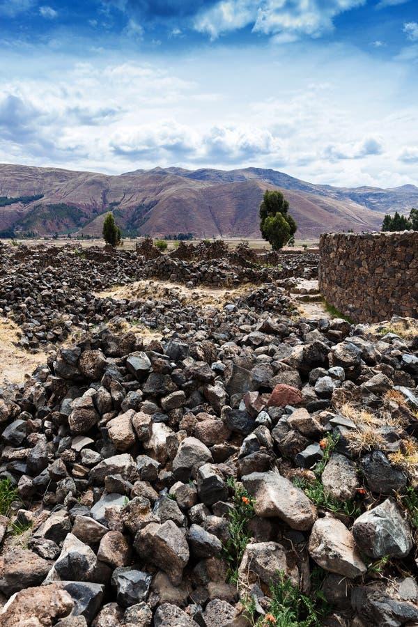 Ñ  turkotliwa ściana Incas zdjęcia royalty free