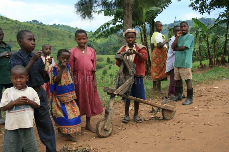 ò Novembro 2008. Refugiados do Dr. Congo fotos de stock