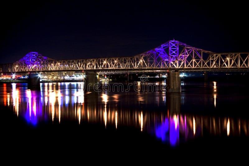 ò Ponte da rua fotografia de stock