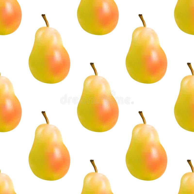 Żółta bonkreta bezszwowa royalty ilustracja