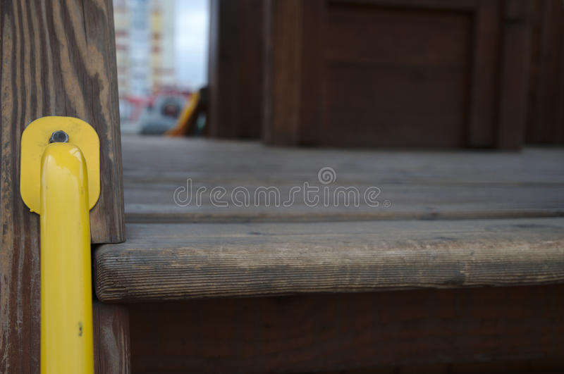Żółta rękojeść obrazy royalty free