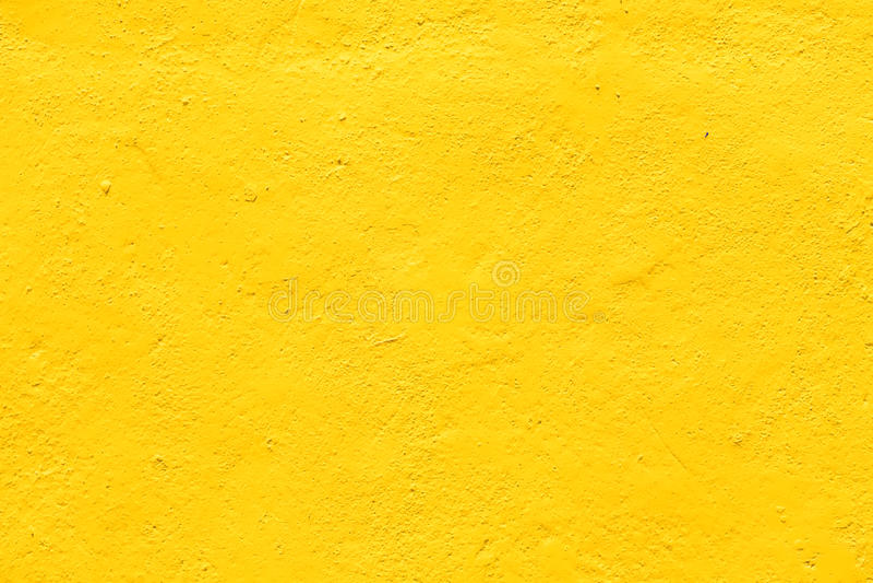 Żółte tło ściany tekstury szorstkie zdjęcia royalty free
