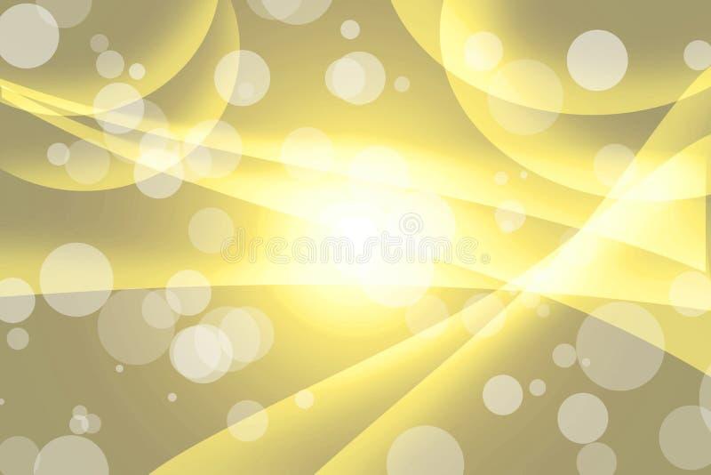 Żółty abstrakcjonistyczny tło obrazy stock