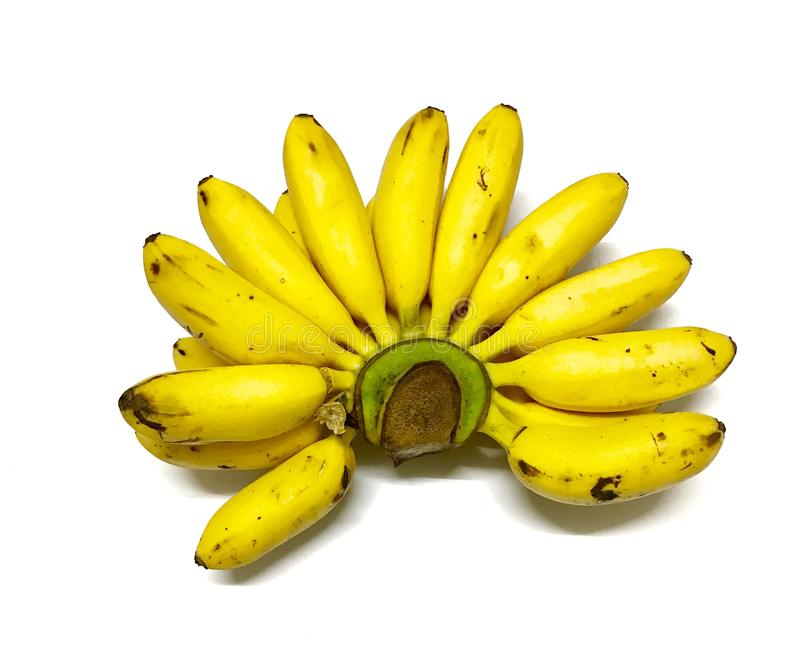 Żółty banan zdjęcia royalty free