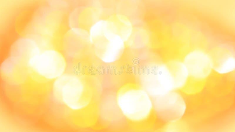 Żółty złoto - Abstrakcjonistyczna sztuka kolor i tło fotografia stock