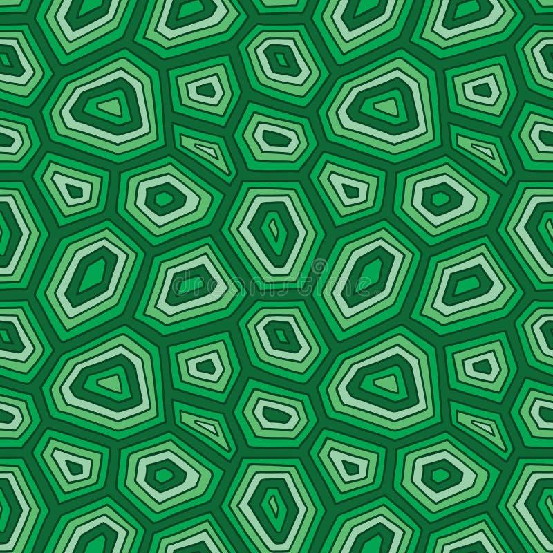 Żółw skorupy wzór ilustracja wektor