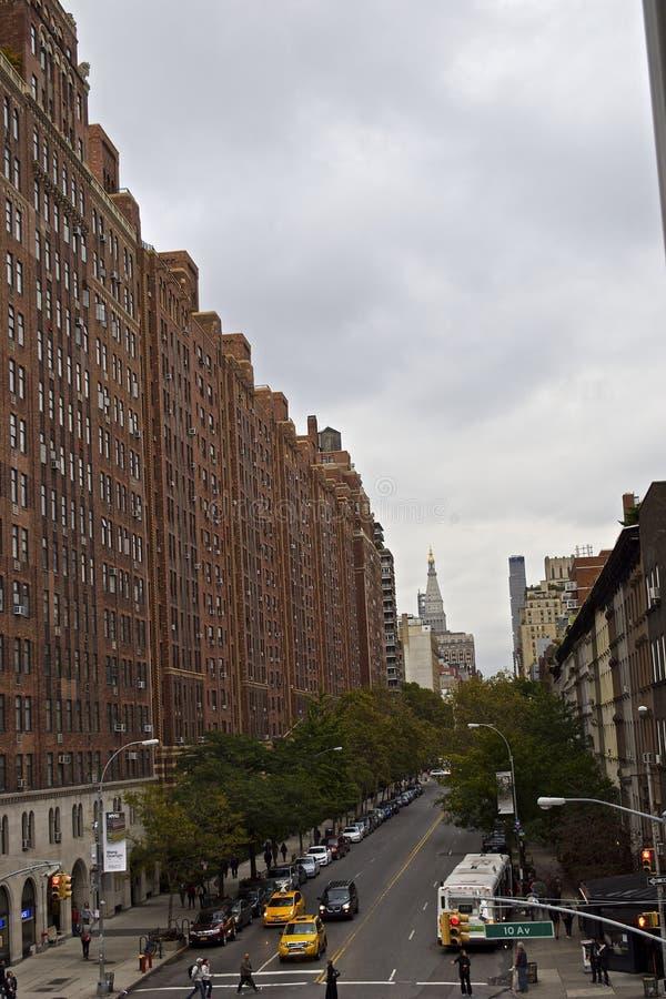 2ó e 10o NYC imagem de stock