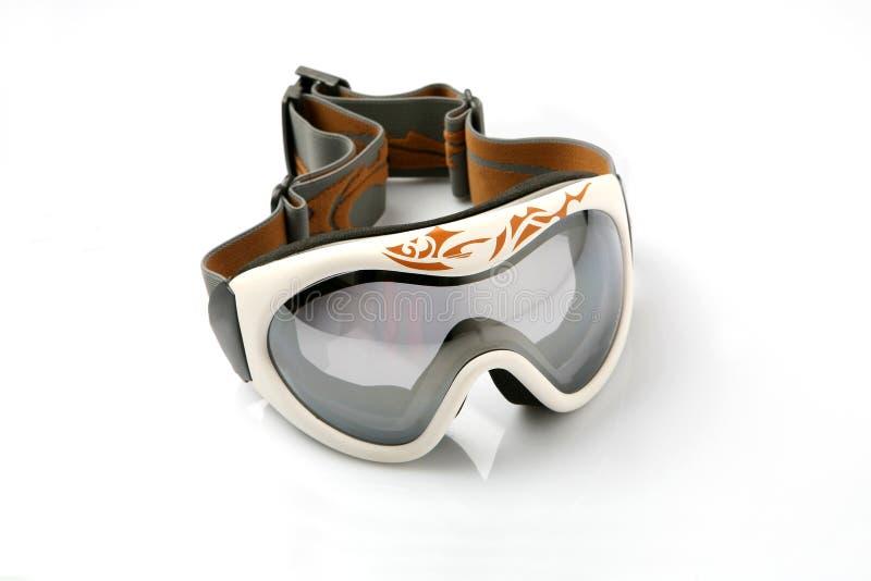 Óculos de proteção do esqui foto de stock