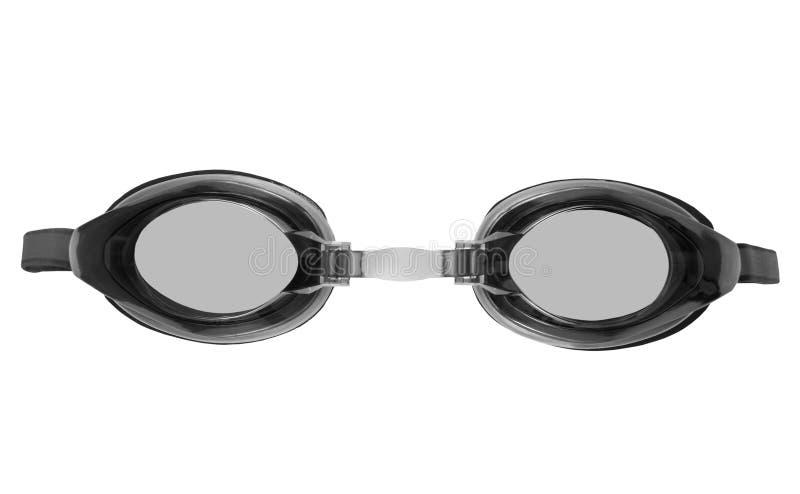 Óculos de proteção para a natação imagem de stock royalty free