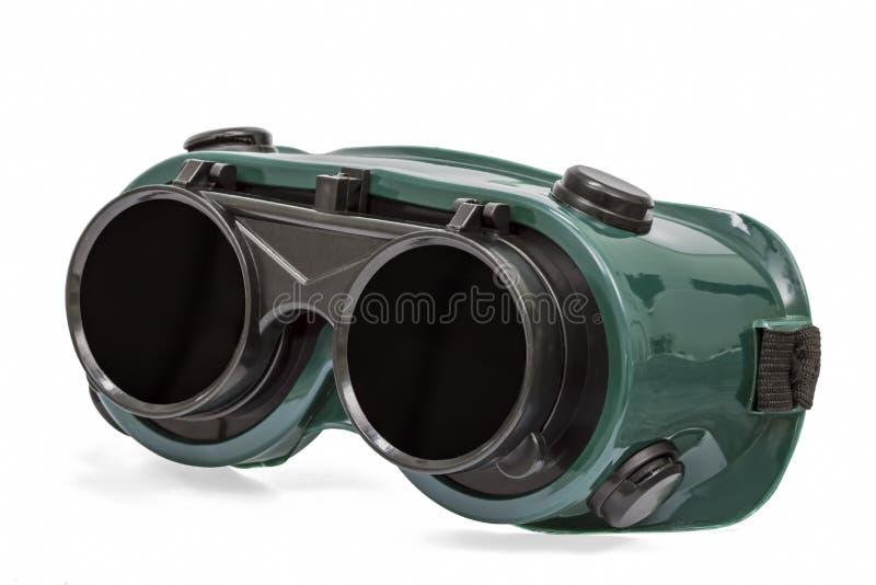 Download Óculos De Proteção Para O Trabalho De Solda, Isolados No Branco, Com Trajeto De Grampeamento Imagem de Stock - Imagem de verde, duro: 65575559
