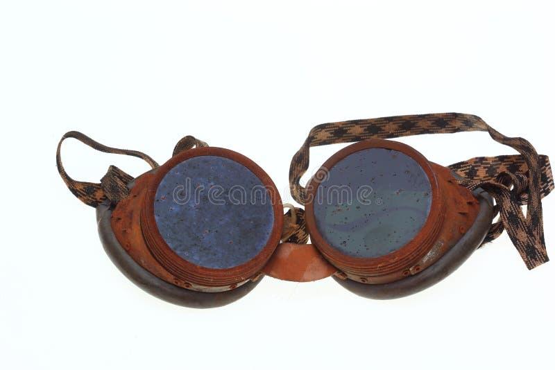 Óculos de proteção protetores para soldadores foto de stock