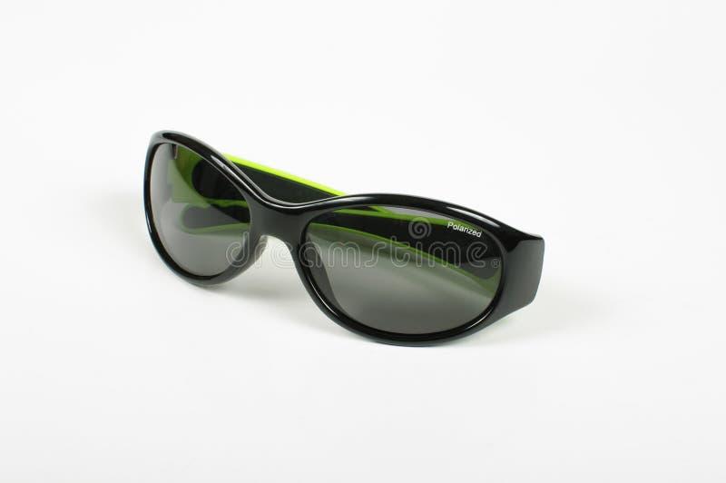 Óculos de sol à moda isolados no fundo branco fotos de stock