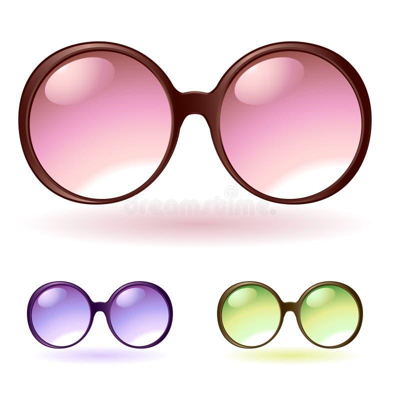 Óculos de sol ilustração stock