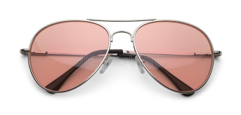 Óculos de sol cor-de-rosa imagem de stock royalty free