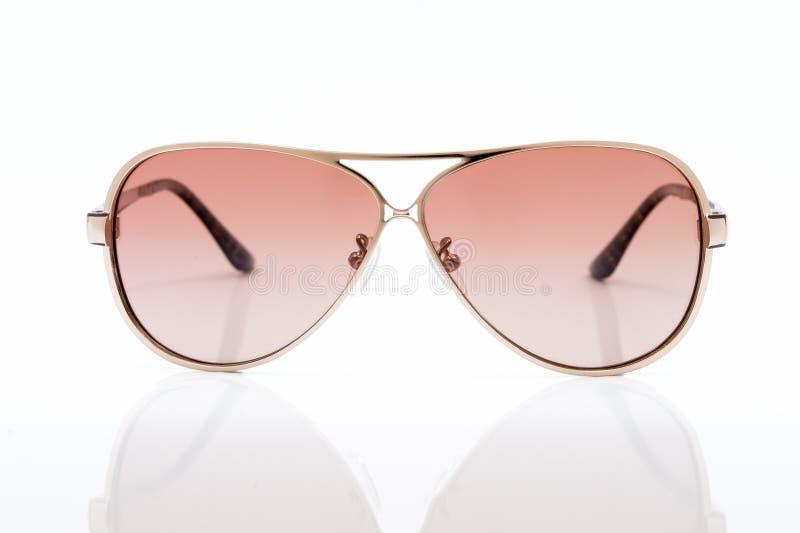 Óculos de sol cor-de-rosa foto de stock royalty free