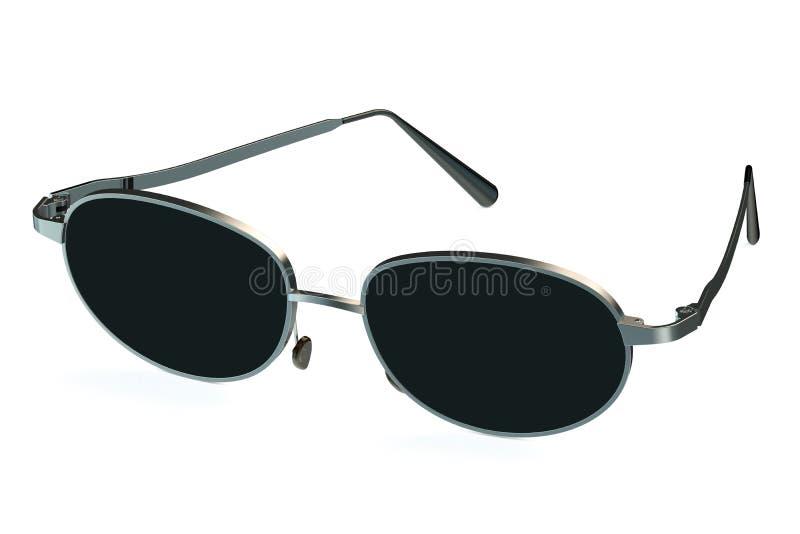 óculos de sol 3D ilustração do vetor