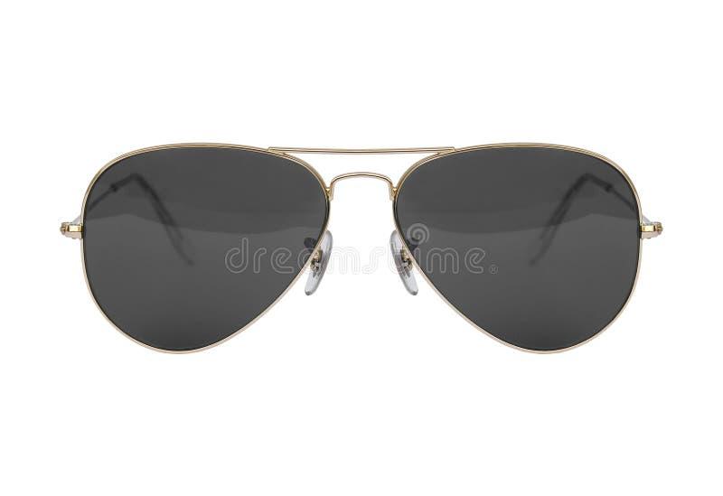 Óculos de sol, estilo do aviador fotos de stock royalty free